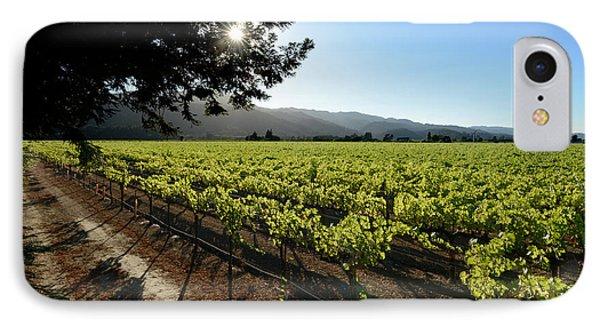 At The Vineyard IPhone Case by Jon Neidert