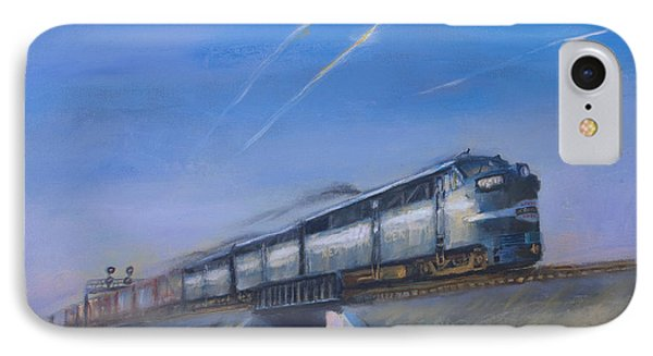 At Track Speed Phone Case by Christopher Jenkins