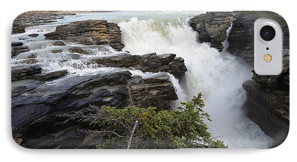 IPhone Case featuring the photograph Athabasca Falls Jasper by Yue Wang