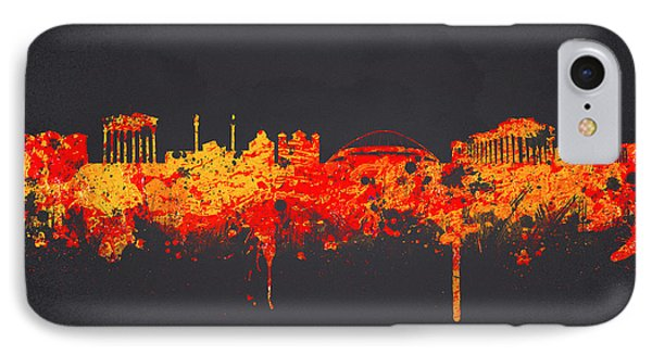 Athens Greece IPhone Case by Aged Pixel