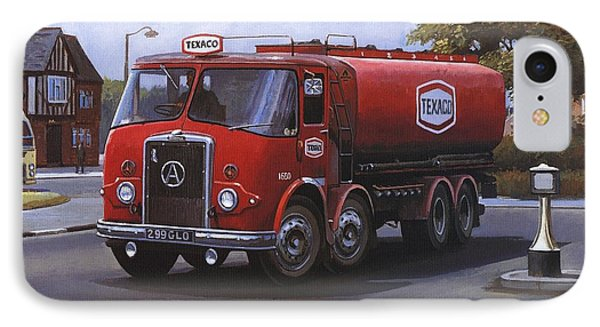 Atkinson Tanker Phone Case by Mike  Jeffries