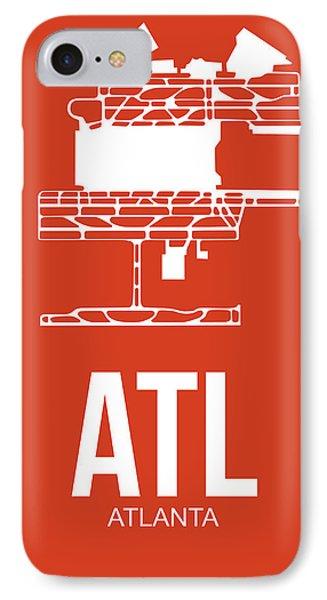 Atl Atlanta Airport Poster 3 IPhone Case