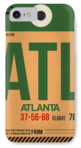 Atlanta Airport Poster 1 IPhone Case