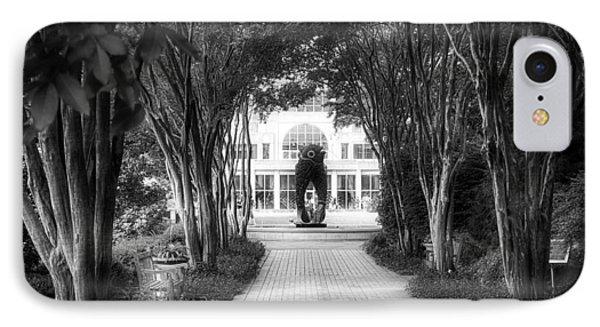 Atlanta Botanical Garden-black And White IPhone Case