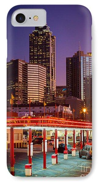 Atlanta Drive-in Phone Case by Inge Johnsson