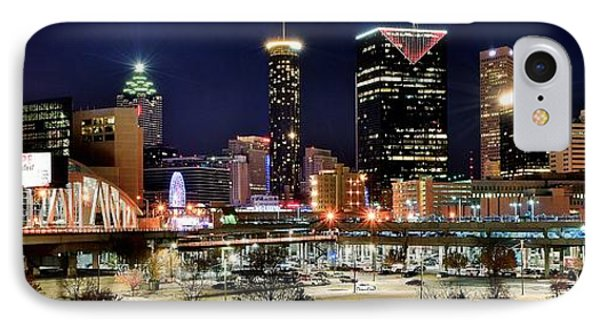 Atlanta Panoramic View IPhone Case by Frozen in Time Fine Art Photography