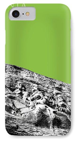 Atlanta Stone Mountain Georgia - Apple Green Phone Case by DB Artist