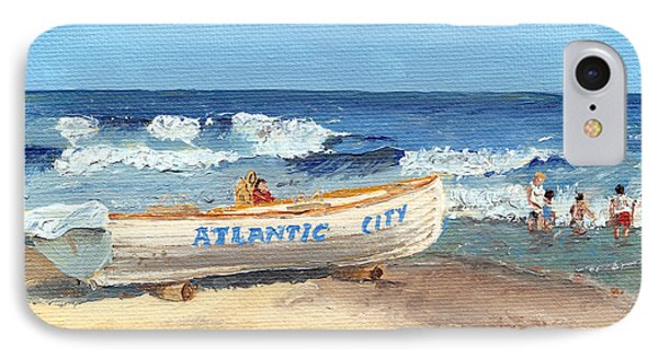 Atlantic City Beach IPhone Case by Arch