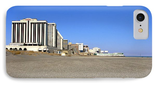 Atlantic City New Jersey Phone Case by Olivier Le Queinec