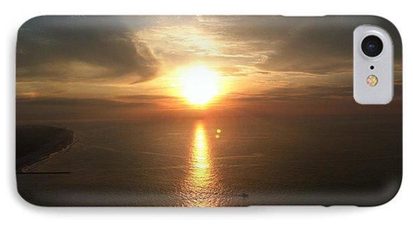 Atlantic City Sunset Phone Case by John Telfer