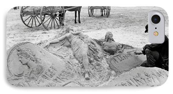 Atlantic City The Sandman Phone Case by Granger