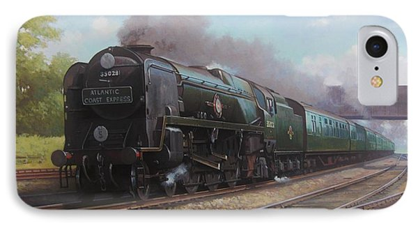 Atlantic Coast Express IPhone Case by Mike  Jeffries