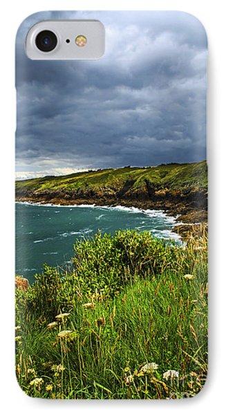 Atlantic Coast In Brittany Phone Case by Elena Elisseeva
