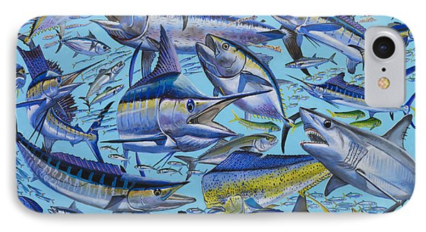 Atlantic Gamefish Off008 Phone Case by Carey Chen