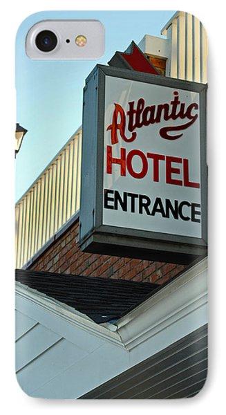 Atlantic Hotel Phone Case by Skip Willits