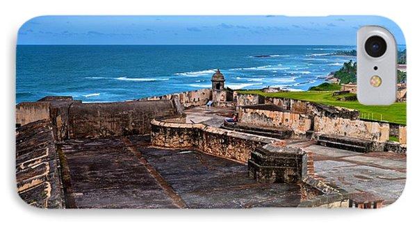 IPhone Case featuring the photograph Atlantic Ocean From Fort San Cristobal by Ricardo J Ruiz de Porras