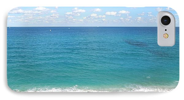 Atlantic Ocean In South Florida IPhone Case by Ron Davidson