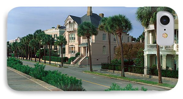 Atlantic Ocean With Historic Homes IPhone Case by Panoramic Images