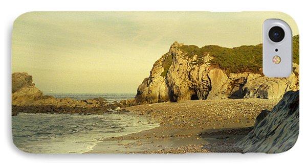 Atlantic Seascape Asturias Spain IPhone Case by Juan  Bosco