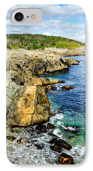 Atlantic Shoreline IPhone Case by Donald Fink