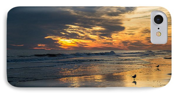 Atlantic Sunset IPhone Case by Jill Laudenslager