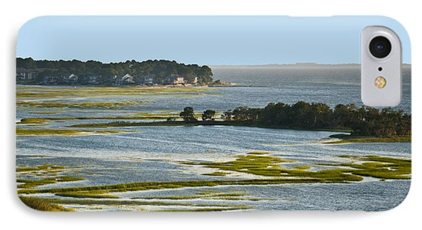 Atlantic Tidal Flats  Cit 16  IPhone Case by G L Sarti