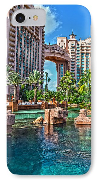Atlantis - Bahamas IPhone Case by Timothy Lowry