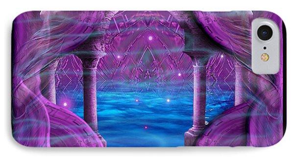 IPhone Case featuring the digital art Atlantis - Fantasy Art By Giada Rossi by Giada Rossi