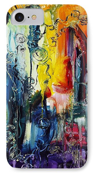 Atlantis Sinking Phone Case by Regina Valluzzi