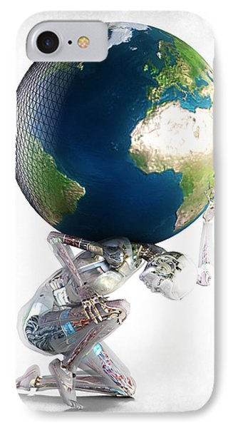 Atlas 3000 IPhone Case by Frederico Borges