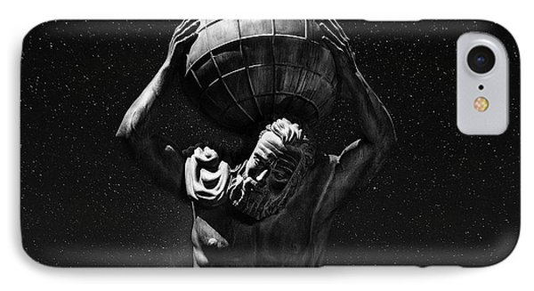 Atlas IPhone Case by Beverly Cash