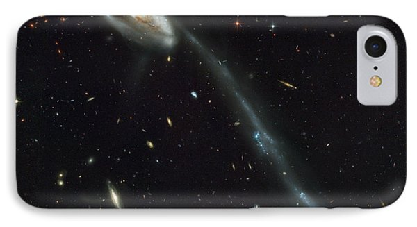 Atlas Of Peculiar Galaxies IPhone Case by Celestial Images