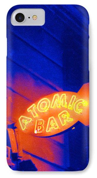 Atomic Bar IPhone Case by Matthew Bamberg