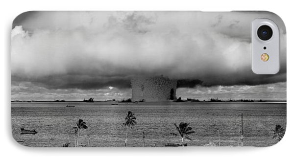 Atomic Bomb Test Phone Case by Mountain Dreams