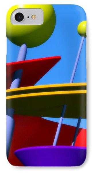 Atomic Dream Phone Case by Richard Rizzo