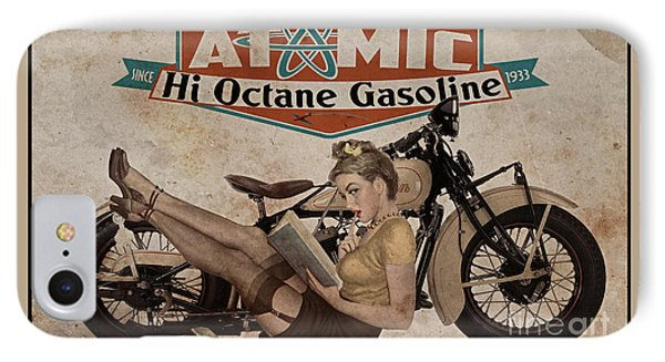 Atomic Gasoline IPhone Case by Cinema Photography