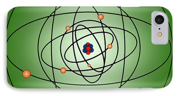 Atomic Structure Model Phone Case by Science Source
