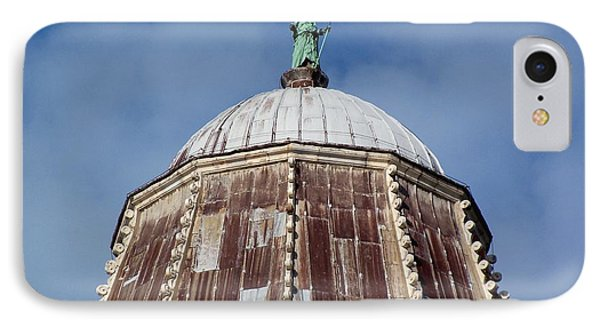 Atop Pisa Baptistry IPhone Case by Katie Beougher