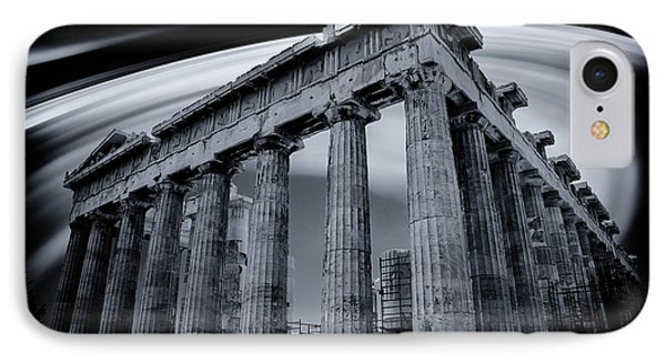 Atop The Acropolis IPhone Case by Micah Goff