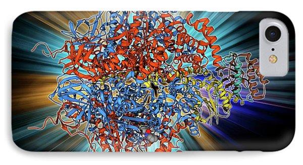 Atpase Molecule IPhone Case by Laguna Design