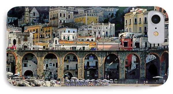 Atrani. Amalfi Coast IPhone Case by Jennie Breeze