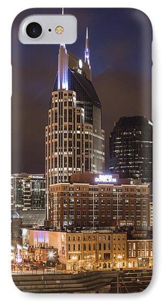 Att Building Nashville  IPhone Case