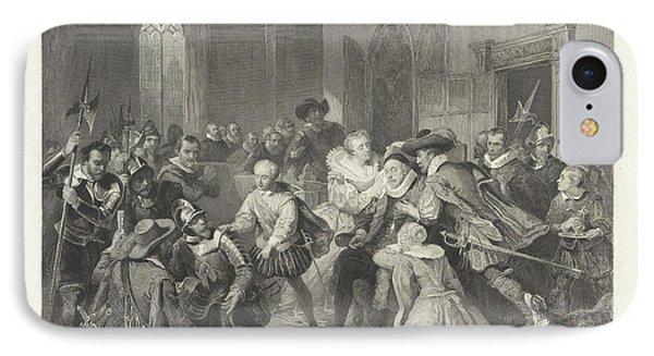 Attack Of Jean De Jauregui On Prince William IPhone Case