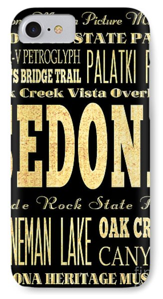 Attraction And Famous Places Of Sedona Arizona IPhone Case