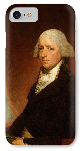 Attributed To Gilbert Stuart, John Ashe, American IPhone Case by Litz Collection