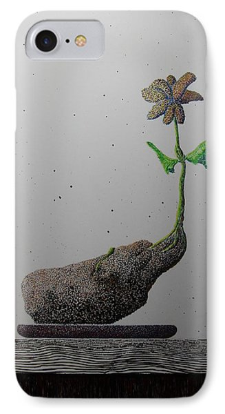 IPhone Case featuring the painting Au Paired by A  Robert Malcom