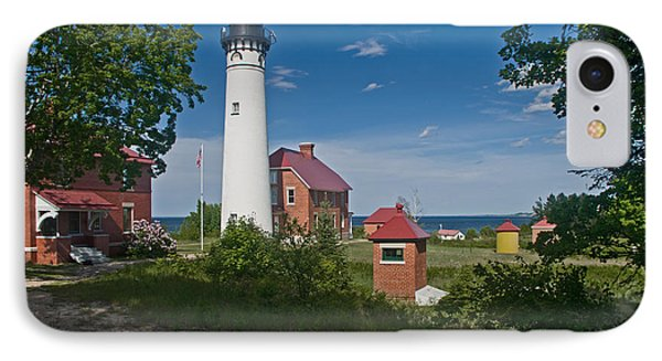 Au Sable Point Lighthouse  IPhone Case