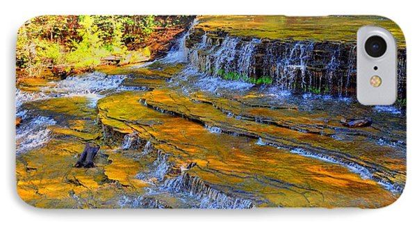 Au Train Falls IPhone Case by Terri Gostola