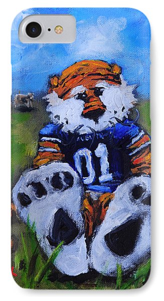 Aubie With The Cows IPhone Case