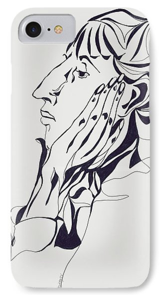 Aubrey Beardsley IPhone Case by Stevie Taylor